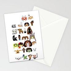ABC3PO Episode II Stationery Cards