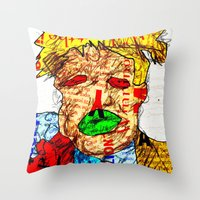 Candidate Trump Throw Pillow