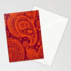 Hokie Paisley Stationery Cards