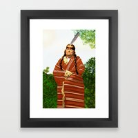 Chickasaw Framed Art Print
