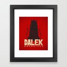 Dalek Unchained Framed Art Print