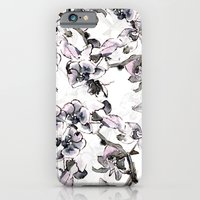 iPhone & iPod Case featuring Purple  Orchid by Laura Irwin Art