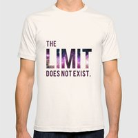 The Limit Does Not Exist… Mens Fitted Tee Natural SMALL