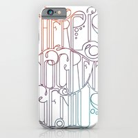 iPhone & iPod Case featuring There is no Great Genius Without a Touch of Madness - Seneca Quote Part 1 by One Curious Chip