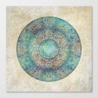 Moon Mandala Canvas Print