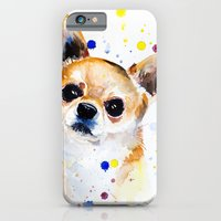 iPhone Cases featuring Chihuahua by Slaveika Aladjova