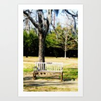 Where We First Met Art Print
