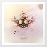 Flying Monkey Art Print