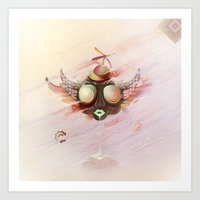 Flying Monkey Art Print