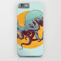 octopus iPhone & iPod Cases featuring Octopus by Eric Persson