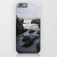 iPhone Cases featuring Dark and Rocky Coastline by Kevin Russ