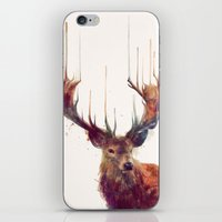 Red Deer // Stag iPhone & iPod Skin
