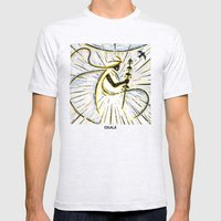 Orixás - Oxala Mens Fitted Tee Ash Grey SMALL