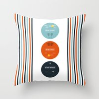 Before Series Throw Pillow