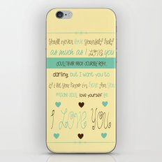 Little Things iPhone & iPod Skin