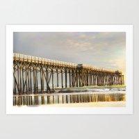 Pier Point Art Print