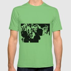 Cotton Club Smooch Mens Fitted Tee Grass SMALL