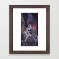 Sweet Smoke Framed Art Print