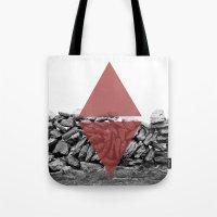 Red Walls Tote Bag