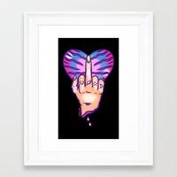 Frank You Framed Art Print