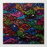 Something is Fishy Canvas Print