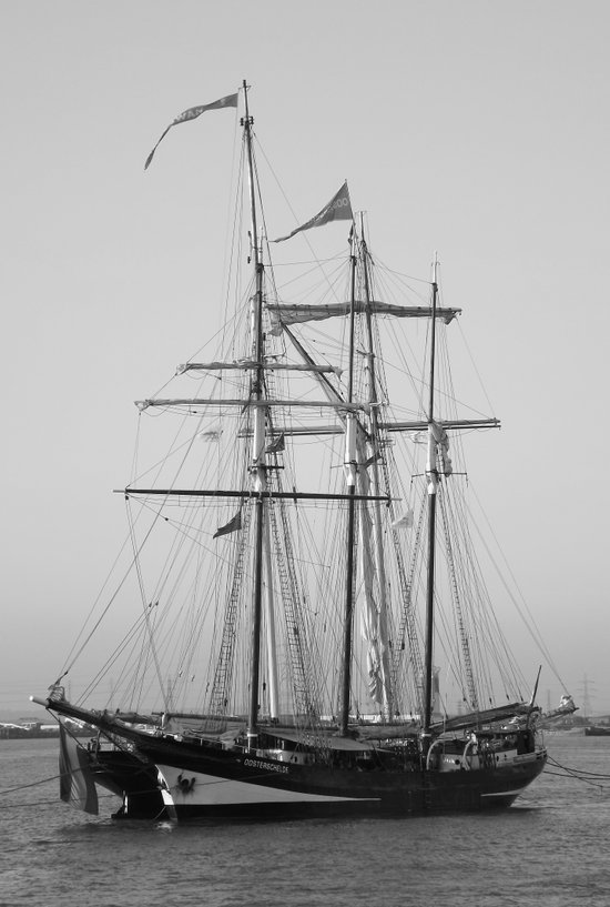 Tall Ships - Greenwich Art Print