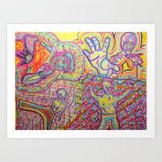 EveryBody's Kung Fu Fighting~^ Art Print