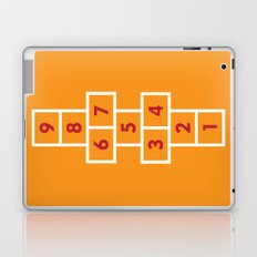 Hopscotch Orange Laptop & iPad Skin