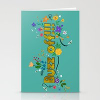 buzz off!!! Stationery Cards