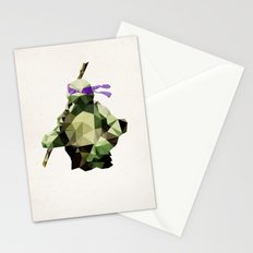 Polygon Heroes - Donatello Stationery Cards