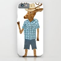iPhone & iPod Case featuring Country deer by Santiago Uceda