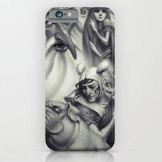 Another Castle :: Duotone Print iPhone 6 Slim Case