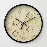 Time On Time Vintage  Wall Clock
