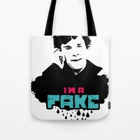 I'm A Fake Tote Bag