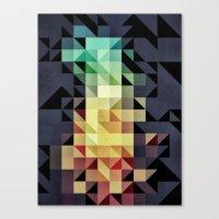:: Geometric Maze IV :: Canvas Print