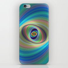 Hypnotic Eye iPhone & iPod Skin