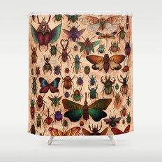 Love Bugs Shower Curtain