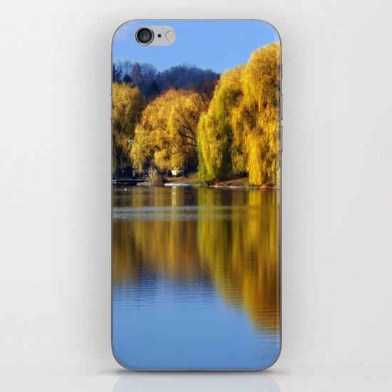 November Pond  iPhone & iPod Skin