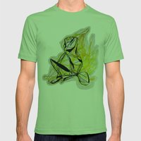 ÁMBAR Mens Fitted Tee Grass SMALL