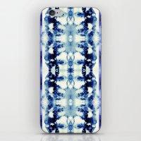 Tie Dye Blues iPhone & iPod Skin