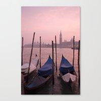 Venetian sunset Canvas Print