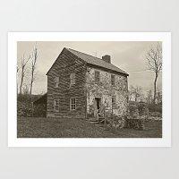Historical House Art Print