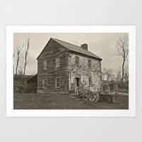 Historical House Art Print