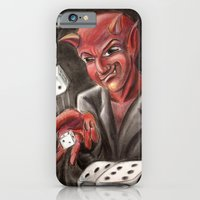 iPhone & iPod Case featuring DevilsDice by myripART