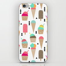 Ice Cream tropical summer spring central park new york city geometric food sweet treat dessert iPhone & iPod Skin