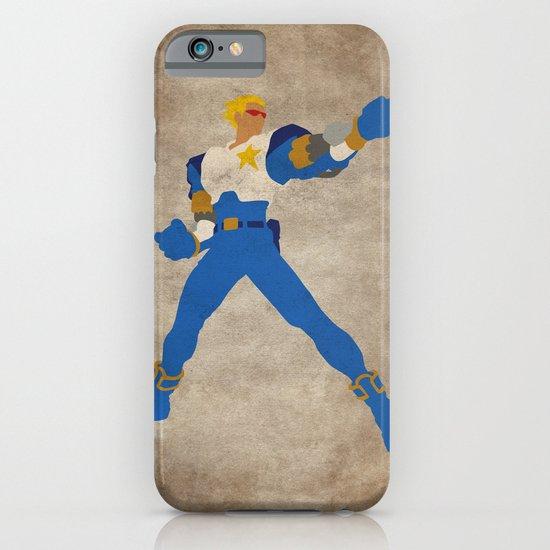 Commanding Captain (Captain Commando) iPhone & iPod Case