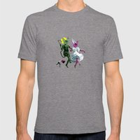 Dance, Chauncey, Dance - French Bulldog Mens Fitted Tee Tri-Grey SMALL