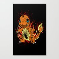 Wild Fire Canvas Print