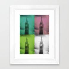 4 Times the Ben Framed Art Print
