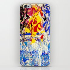 Abstract painting  - Sunset over The Sea iPhone & iPod Skin